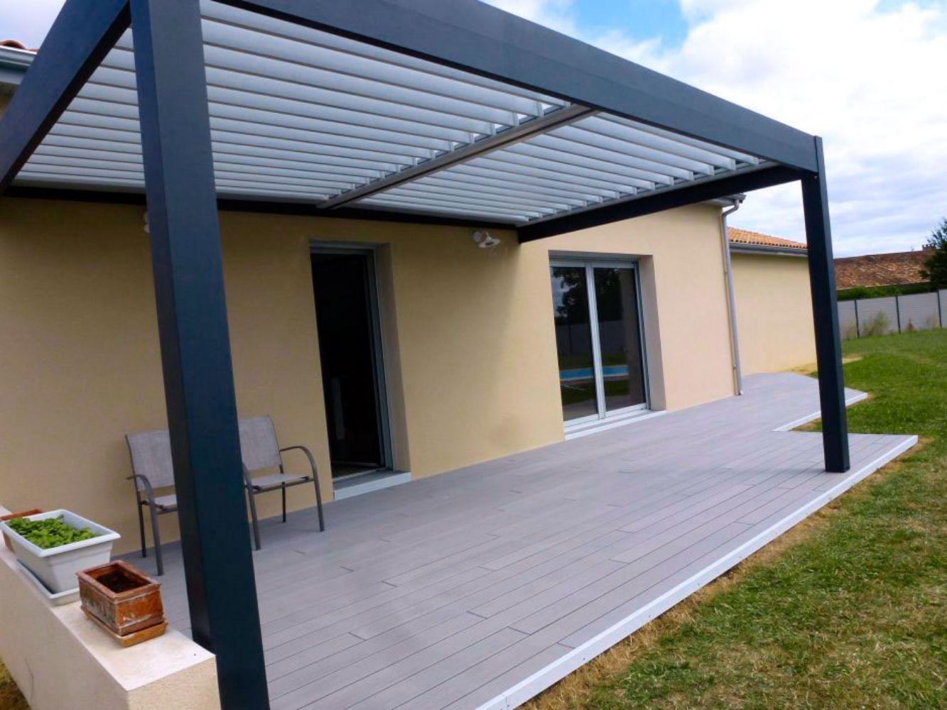 Menuisier agencement ext rieur terrasse pergola for Agencement exterieur